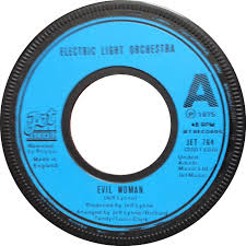 Evil Woman Electric Light Orchestra 45cat Electric Light Orchestra Evil Woman 10538 Overture