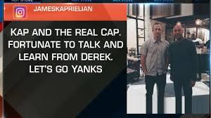 yankees prospects have dinner with derek jeter mlb com