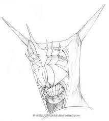 mouth of sauron for vtforpedro by sythgara on deviantart