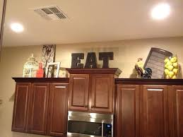 above kitchen cabinets ideas cabinet top decor best above kitchen cabinets ideas on above