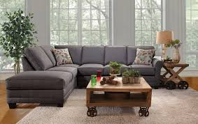 Brady Home Furniture by Gray Sectional Sofa Rowe Brady Sectional Sofa With Track Arms
