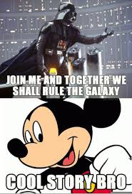 Disney Star Wars Meme - disney star wars memes are always great throw in a cool story