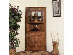 cabinet a giant wood dining room corner hutch cabinet with glass