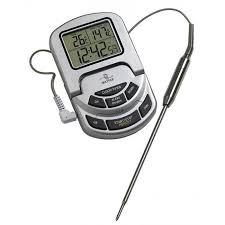 thermometre sonde cuisine thermomètre de cuisson pro avec alarme et sonde achat vente
