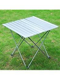 aluminium roll up table cing cing tables amazon com