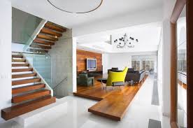 Living Room With Stairs Interior Design Living Room With Stairs