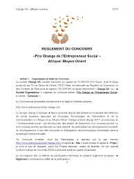 orange adresse siege social prix orange entrepreneur social 2016 reglement francais1