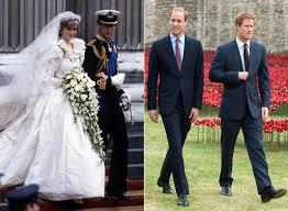 wedding dress daily princes william harry to get princess diana s wedding gown ny