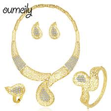 ladies necklace sets images Oumeily jewelry sets turkish luxury ladies jewellery sets women jpg
