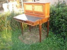 bureau antiquaire bureau en acajou bonheur du jour xixe siècle la fontaine du