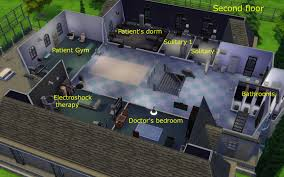 mod the sims greystone asylum victorian mansion for insane sims
