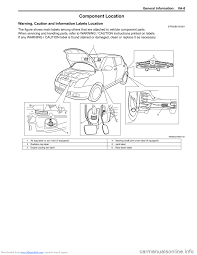 suzuki swift 2004 2 g service workshop manual