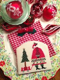 65 best cross stitch christmas ornaments images on pinterest