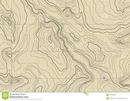 Us Map Topography Abstract Topographic Map Vector Stock Photo Image 16531890