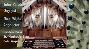 gigout grand choeur dialogue for organ brass percussion