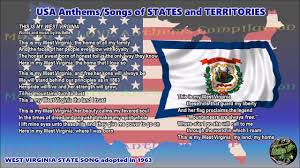 State Flag Of Virginia West Virginia State Song This Is My West Virginia With Music