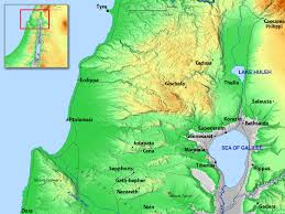 Dora Map Free Bible Images Maps Of Israel And Its Regions In The New