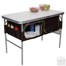folding table with storage folding c table with storage bins westfield outdoor inc ta 519