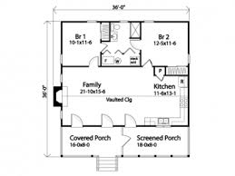 Two Bedroom Houses 36x36 Two Bedroom House Plan 962 Sq Ft Mostly Small Houses