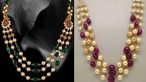 pearls necklace price images South sea pearls balls haram designs gold jewellery jpg