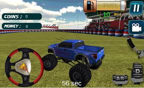 monster truck video game play 4x4 monster truck simulator android apps on google play