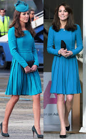 Duchess Kate Duchess Kate Recycles Emilia Wickstead Dress | emilia wickstead dress in teal from kate middleton s recycled looks