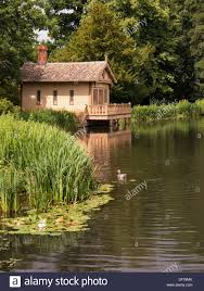old victorian swiss chalet style boathouse by the lake in belton