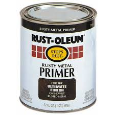 blog post how to paint a car with a bucket of rust oleum and a