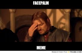 Facepalm Meme Generator - facepalm meme 28 images facepalm weknowmemes double face palm