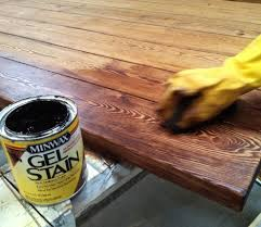 staining a table top how to stain a kitchen table choice image table decoration ideas