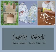 kitchen floor crafts castle week simple summer theme week 4