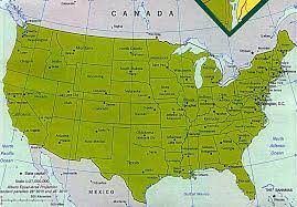 map usa all states list of all the 50 states that make up the united states of