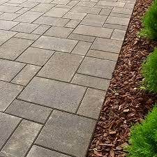 Lowes Patio Stone by Installing A Walkway With Paver Blocks Patio Stone Lowes