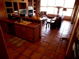 floor tiles for kitchen design decorating impressive reformed home with saltillo tile flooring