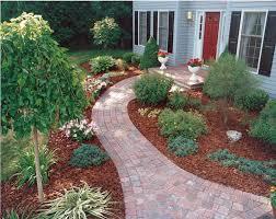 Sidewalk Garden Ideas Trendy Design Sidewalk Landscaping Front Curb Pictures Gardening