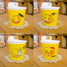 Creative Coffee Mugs New Emoji Cartoon Ceramic Mugs Cups Creative 120ml Coffee Cups 4