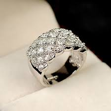 Wedding Rings Women by Italina Cz Jewelry Wedding Rings For Women Rose Gold Austria