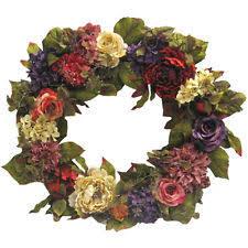 hydrangea wreath hydrangea wreath floral decor ebay