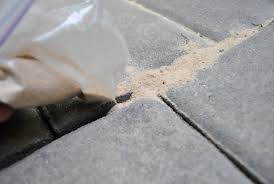 How To Remove Weeds From Patio How To Use Polymeric Sand To Block Weeds In Our Paver Patio