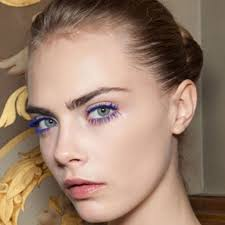 makeup trends 2016 2017 how to wear blue mascara no matter what