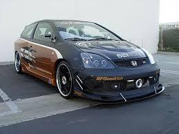 si e v o b evo style carbon fiber for 2002 2005 honda civic si