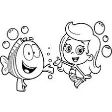 bubble guppies coloring pages 25 free printable sheets easter