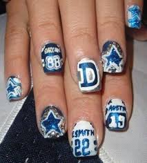 10 jersey nail art ideas for sports fans