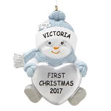 personal creations personalized the original snow buddies baby