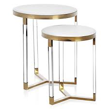 end table set of 2 murano tables set of 2 color trends z gallerie