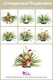 tropical flower arrangement diy lanui