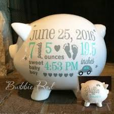 customized piggy bank personalized piggy bank baby boy piggy bank elephant theme baby