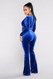 blue velvet jumpsuit velvet jumpsuit blue