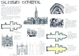 project 2 analysis presentation board reactive metal in through this project i was able to have a more in depth understanding to salisbury cathedral and also gothic architecture i am also able to identify design