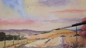 paint landscapes in watercolor part 1 udemy